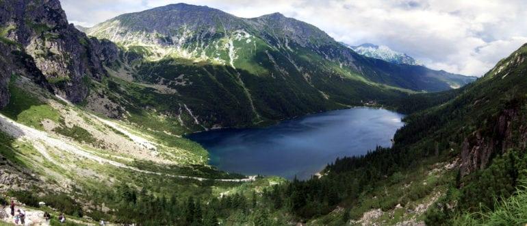 Озеро Морске-Око в Польше