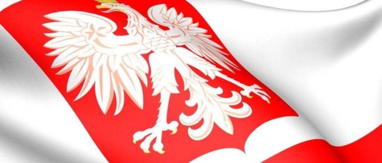 Флаг Герб Польша