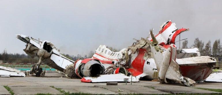 Обломки Ту-154