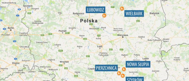 6 новых городов Польши