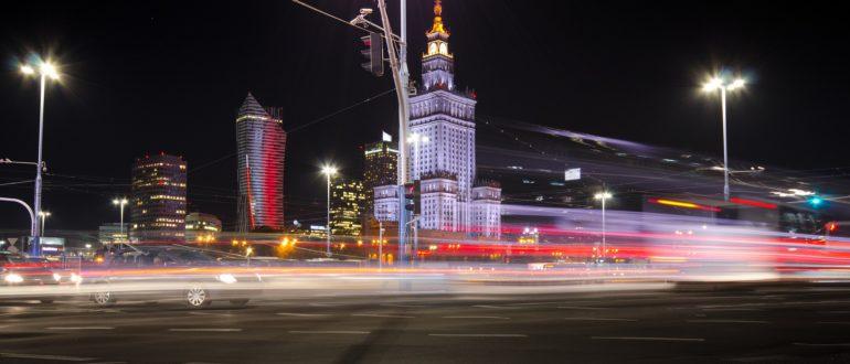 Работа общественного транспорта в канун и во время Рождественских и Новогодних праздников в Варшаве